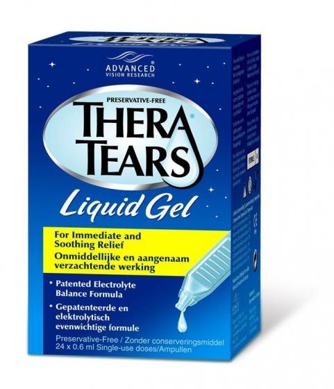 Thera Tears жидкий гель для глаз без консервантов